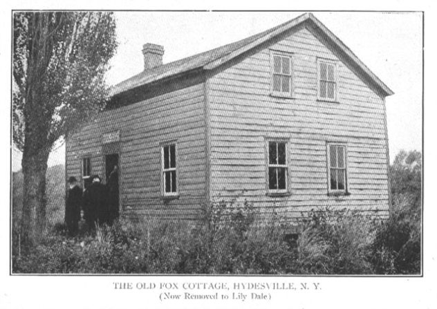 1847: Fox Family Moves to Hydesville, NY